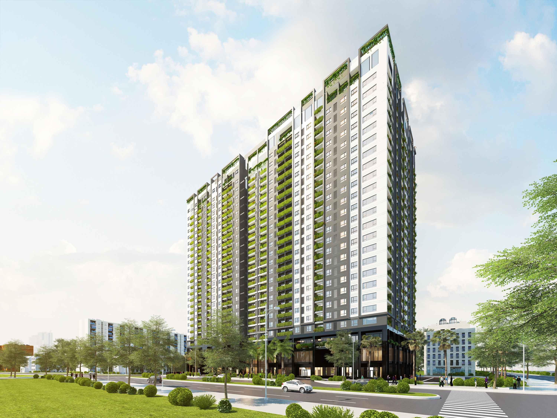 Phối cảnh Chung cư Anland Premium - Chung cư Anland Complex