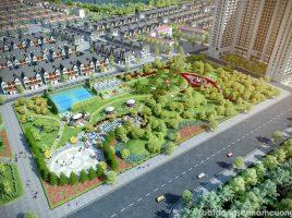 Công viên cảnh quan rộng 2,5 hecta - Tiện ích Khu đô thị mới Dương Nội