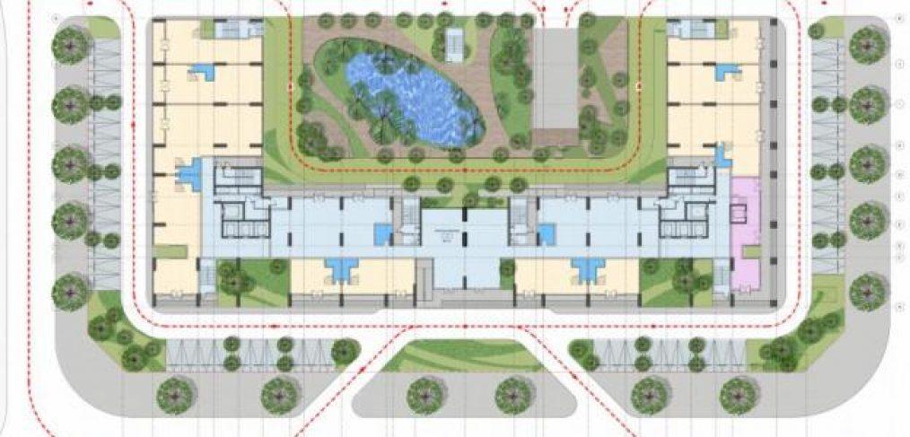 Mặt bằng thiết kế chung cư AnLand HH01 Complex Building Nam Cường