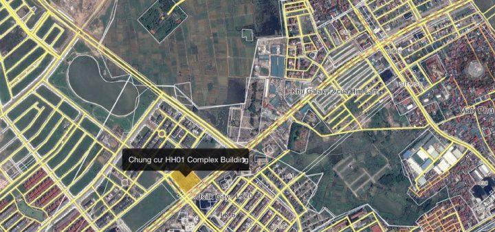 Vị trí chung cư AnLand HH01 Complex Building Nam Cường